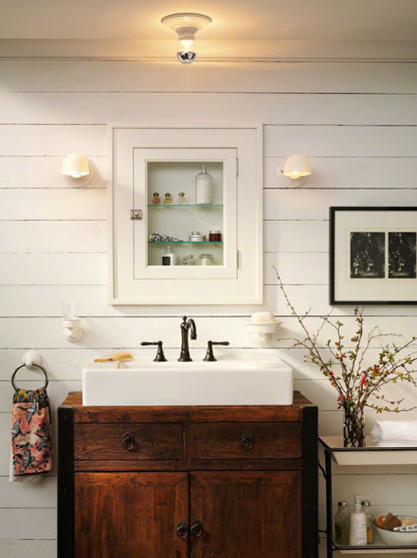 20 Cozy And Beautiful Farmhouse Bathroom Ideas Home Design And ...