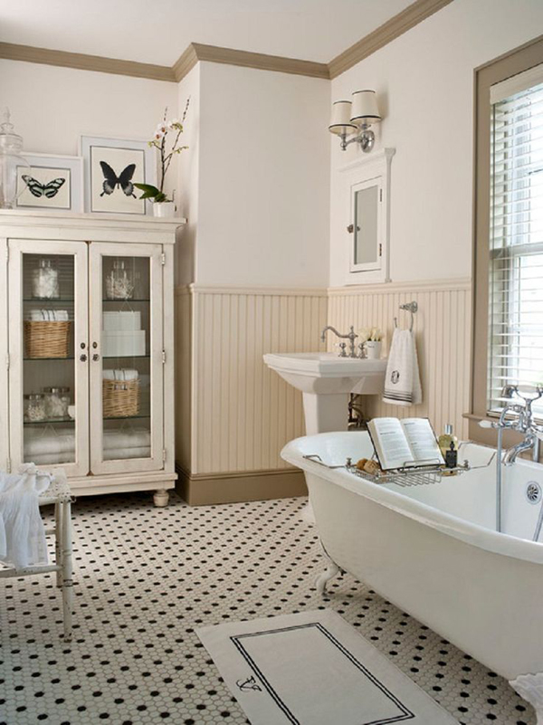 20 cozy and beautiful farmhouse bathroom ideas home On farmhouse bathroom designs