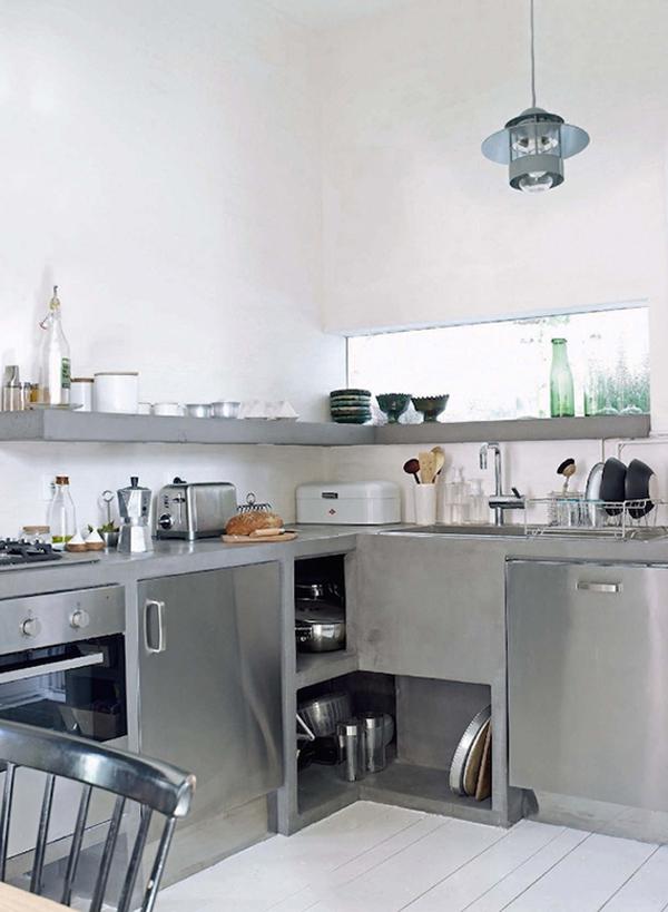 home design and interior - Industrial Kitchen Ideas