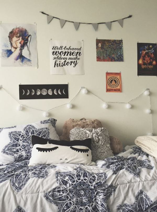 10 Super Stylish Dorm Room Ideas  Home Design And Interior ~ 125634_Dorm Room Wall Decor Ideas