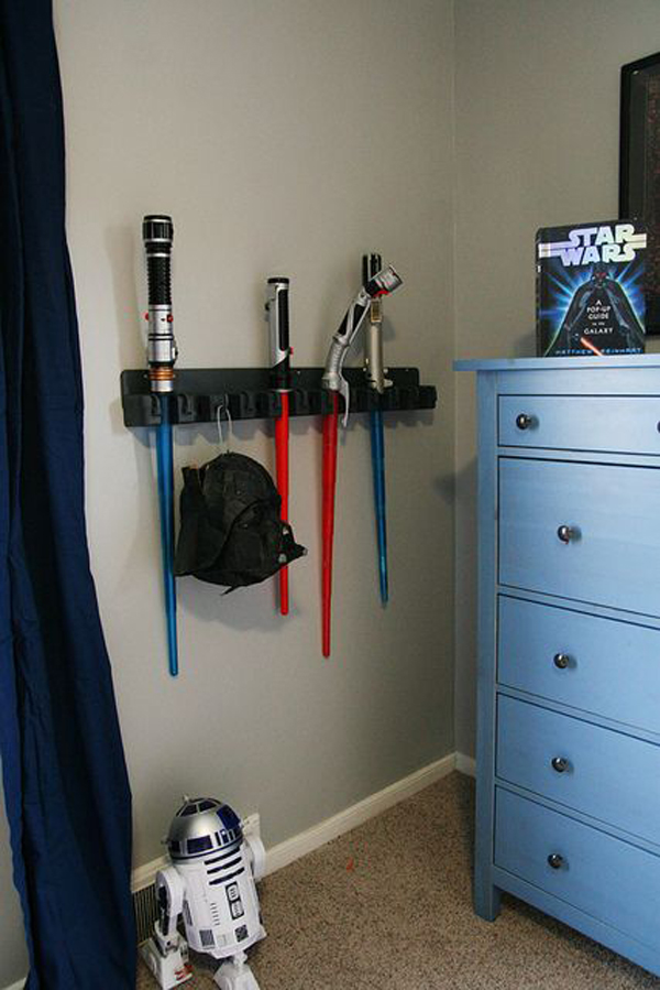 Boy Bedroom Storage: 20 Awesome Star Wars Room For Little Boys