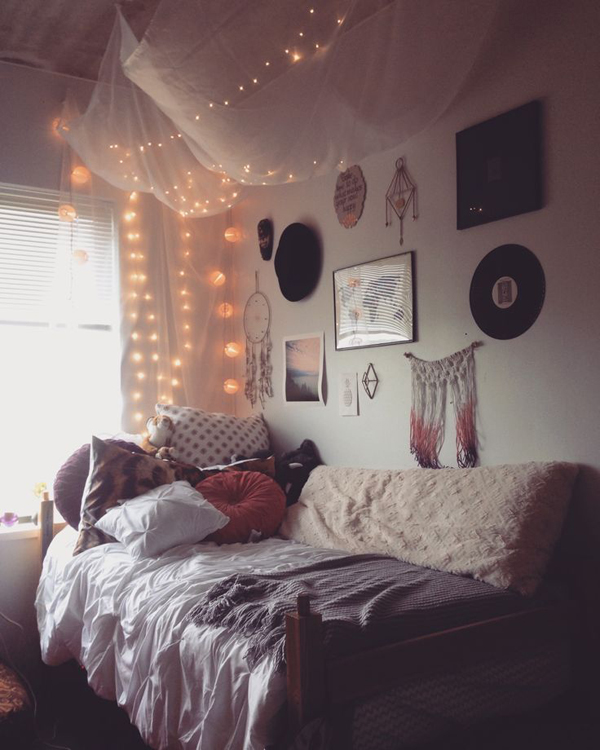 Before And After Merging Two Rooms Has Created A Super: 10 Super Stylish Dorm Room Ideas