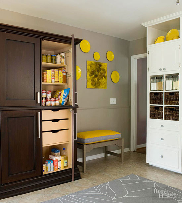 20 modern kitchen pantry storage ideas home design and for Modern kitchen pantry