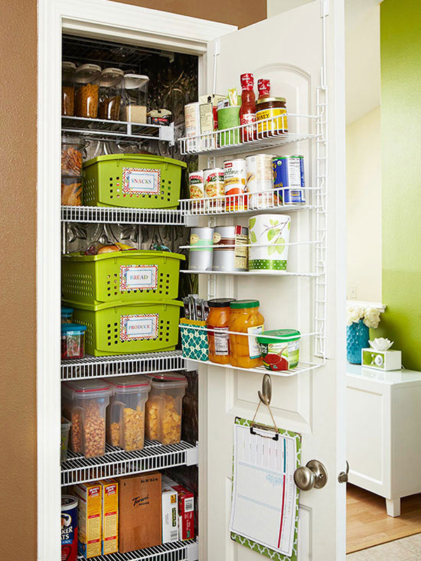 20 modern kitchen pantry storage ideas home design and for Organization ideas for kitchen pantry