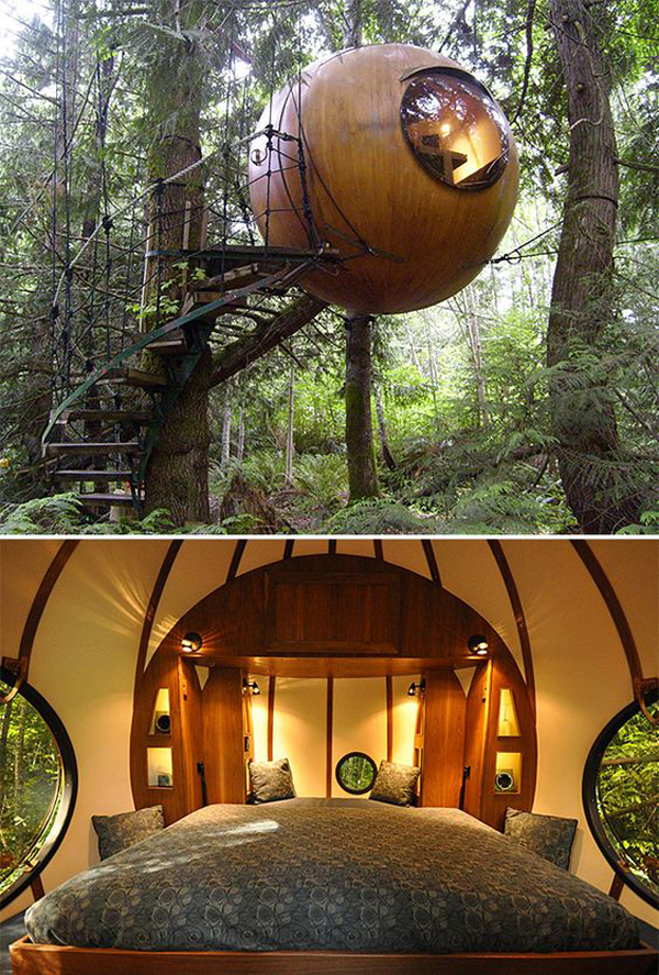 20 awesome treehouse with childhood dreams home design