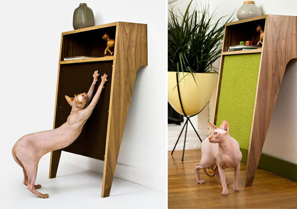 Nice Do You Want To Have A Beautiful Cabinet But Feared To Be Damaged Because  The Cat Often Scratch Various Goods We? It Seems The Idea To Make Cabinet  At The ...