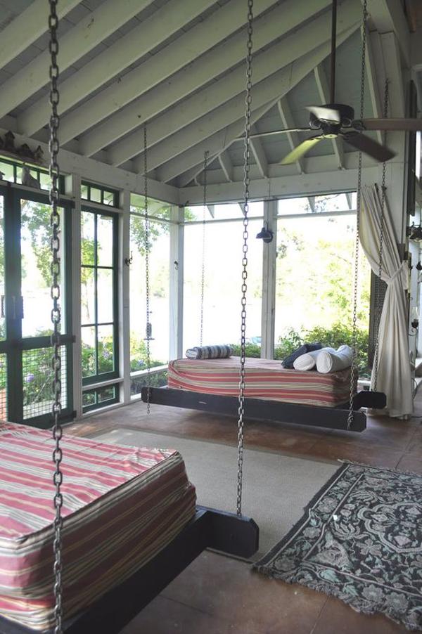 10 Most Relaxing Sleeping Porch Ideas Homemydesign