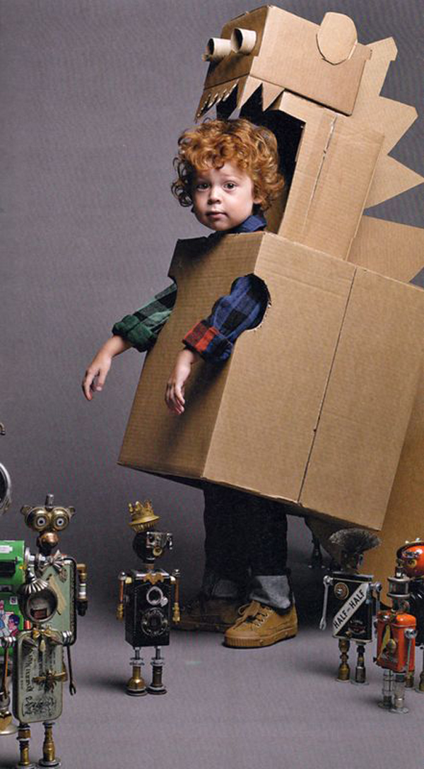 25 Amazing Diy Cardboard Toys For Kids Home Design And