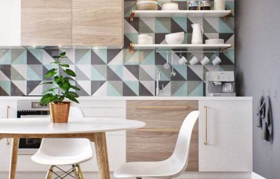 geometric-kitchen-backsplash-ideas