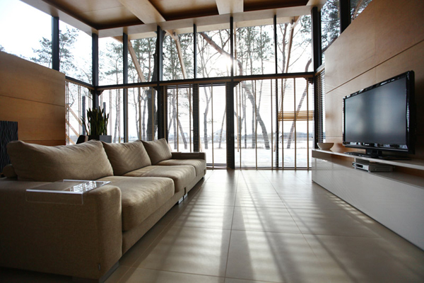 Modern cottage interior design for Contemporary cottage design