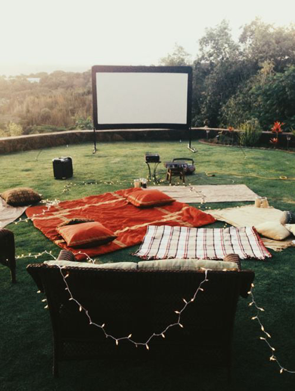 7 Easy Tips For Backyard Movie Theater | Home Design And ...