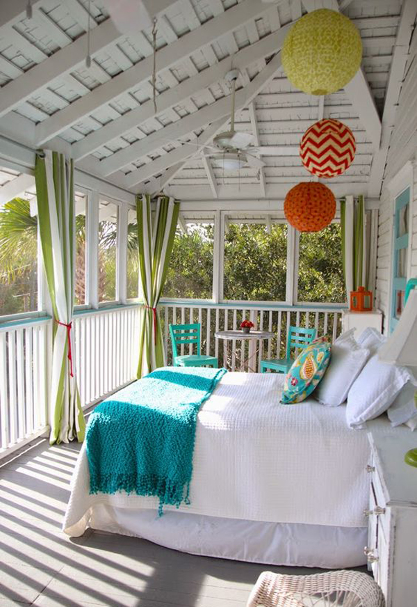 10 Most Relaxing Sleeping Porch Ideas Home Design And