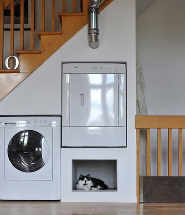 Under The Stairs Laundry Room Ideas