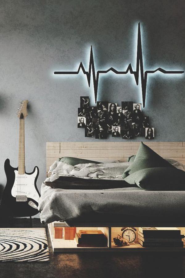 Guitar Themed Bedroom Ideas 2 Unique Design