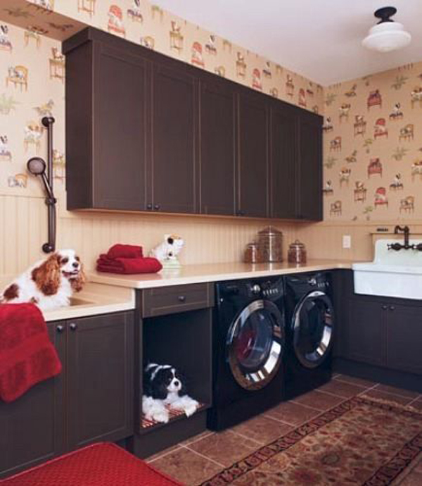 20 cool laundry room for pet lovers home design and interior for Lovers home
