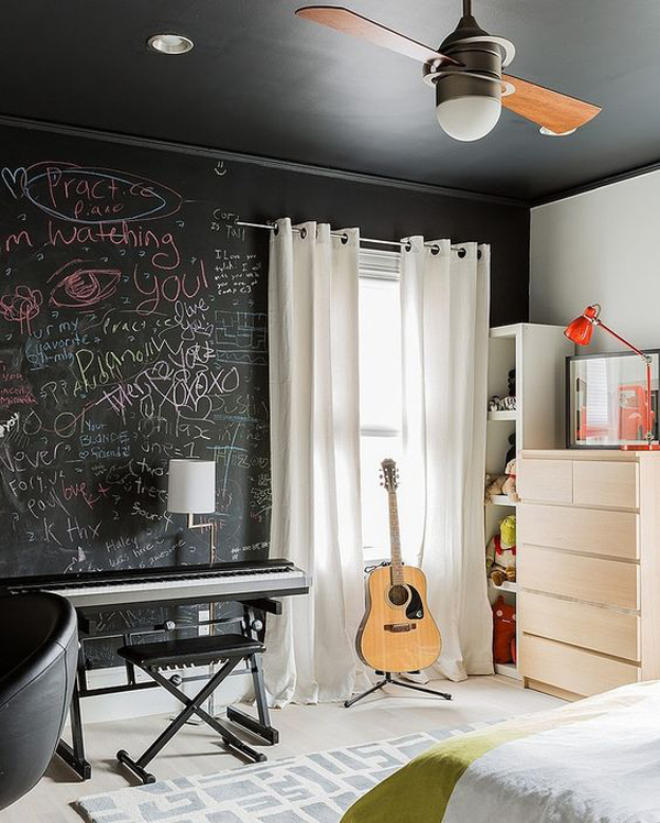 10 Super Cool Music Bedroom For Teenage Boys