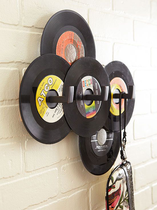 20 Cool And Useful Old Vinyl Records Home Design And