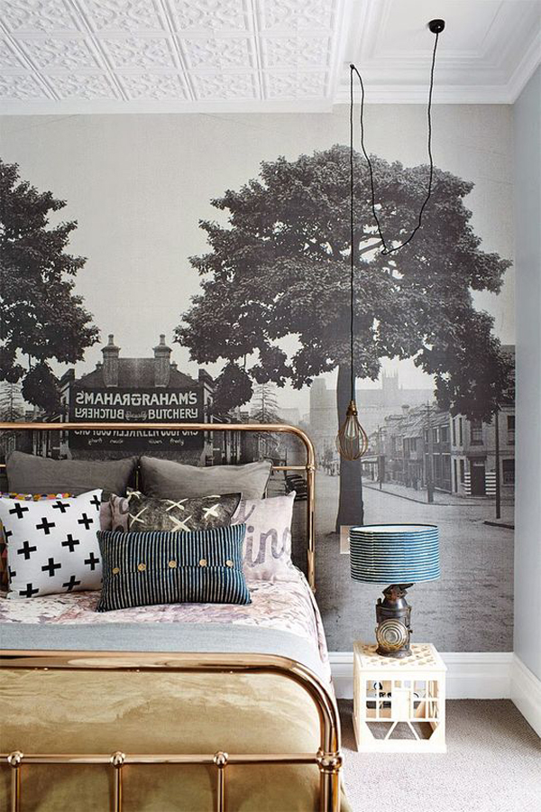 Diy Wallpaper Ideas : Amazing decorating tips to use wallpaper ideas home