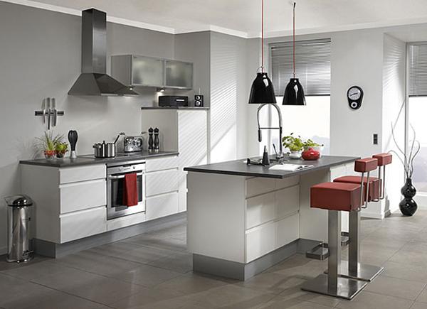 Grey Kitchen Interior Design Home Design And Interior