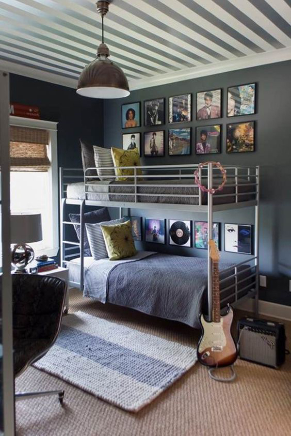 10 super cool music bedroom for teenage boys home design