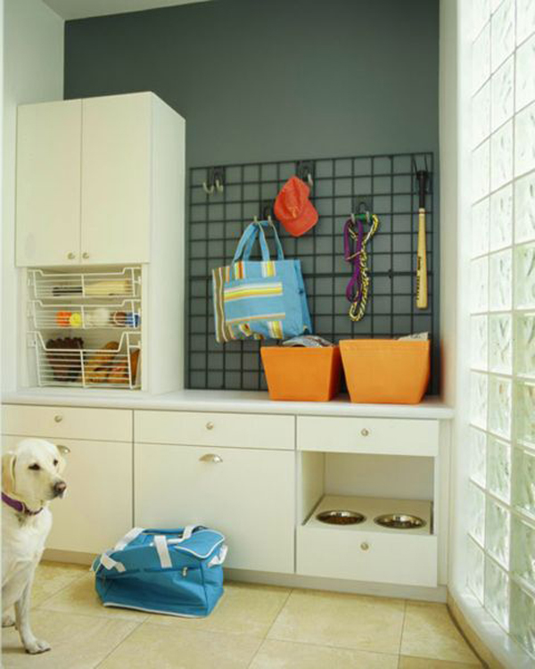 20 cool laundry room for pet lovers home design and interior for Pet bedroom ideas