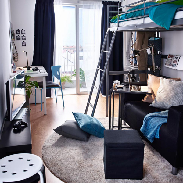 = 10 Modern And Stylish Ideas For Dorm Rooms  Home Design