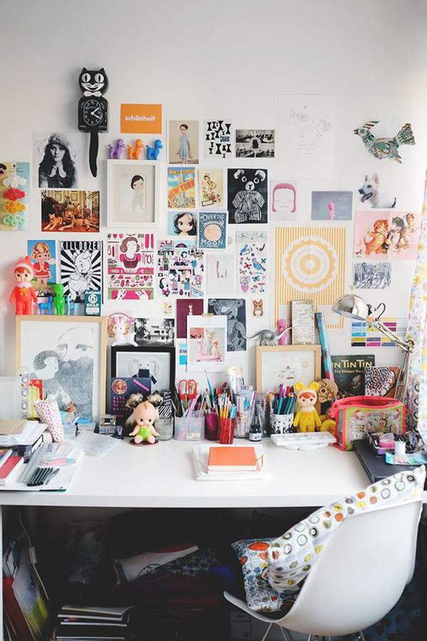 48 Tips And Creative Ideas For Your Office Desk Home Design And Classy Graphic Design Office Furniture