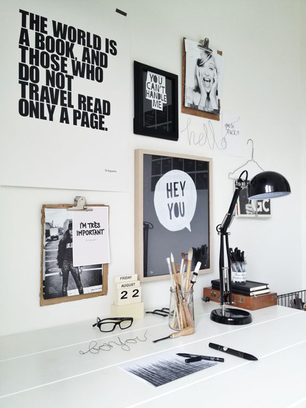 10 tips and creative ideas for your office desk home