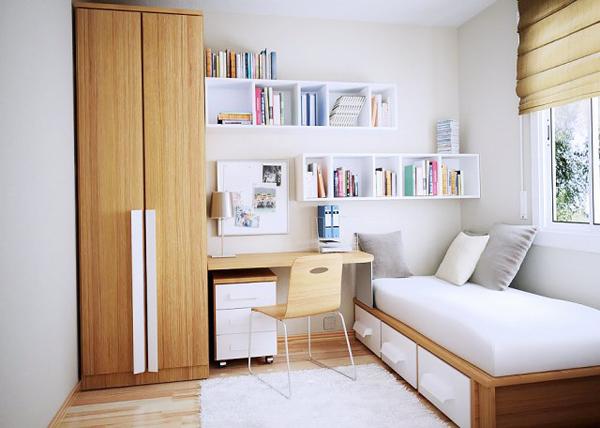 Simple Modern Dorm Room Design Homemydesign
