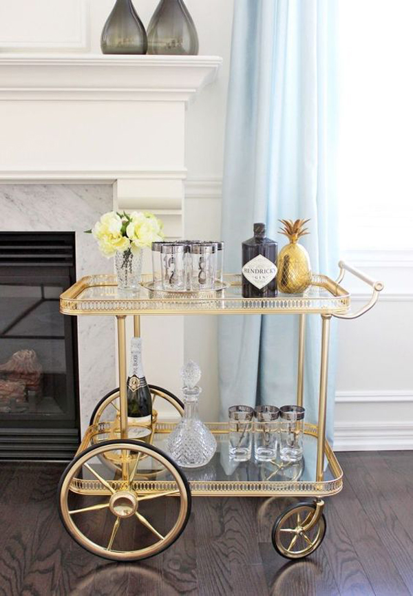 Gallery Of 20 Styling Bar Carts For Every Home