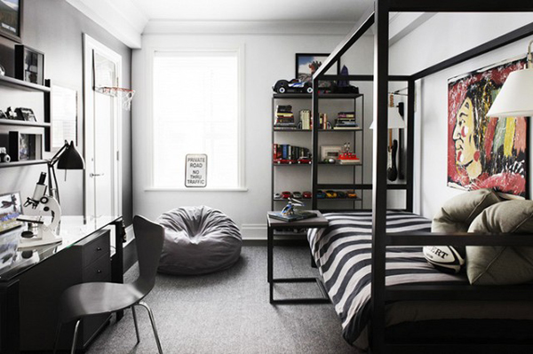 10 Modern And Stylish Ideas For Dorm Rooms | Home Design ...