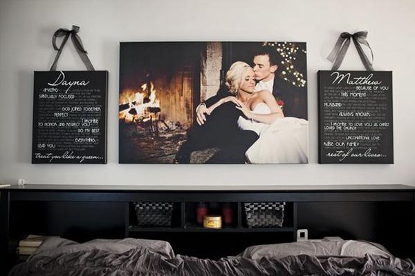 Gallery Of 10 Romantic Wedding Photo Display Ideas