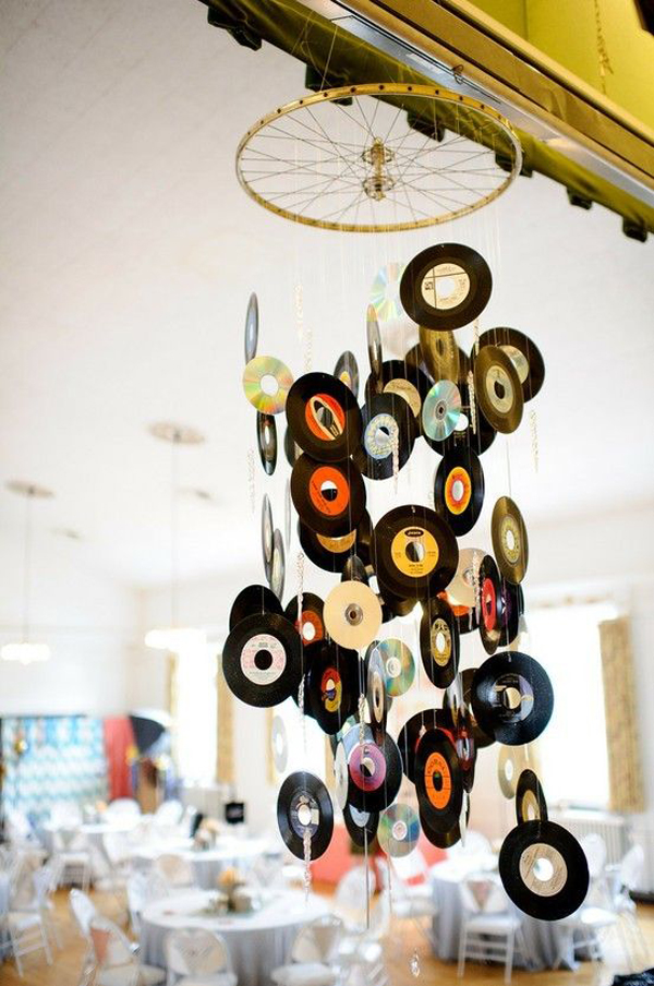 20 cool and useful old vinyl records home design and for Classic house records