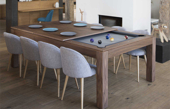Billiard Tables Home Design And Interior - Sleek pool table
