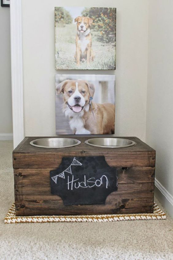 20 Gorgeous Diy Dog Feeding Station Projects Home Design