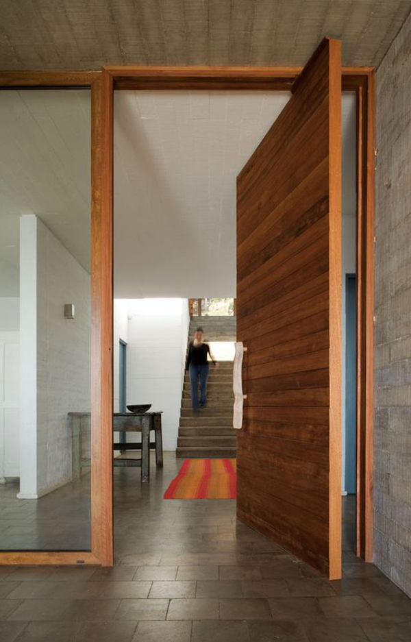 25 Modern Home Exteriors Design Ideas: 25 Modern Front Door With Wood Accents