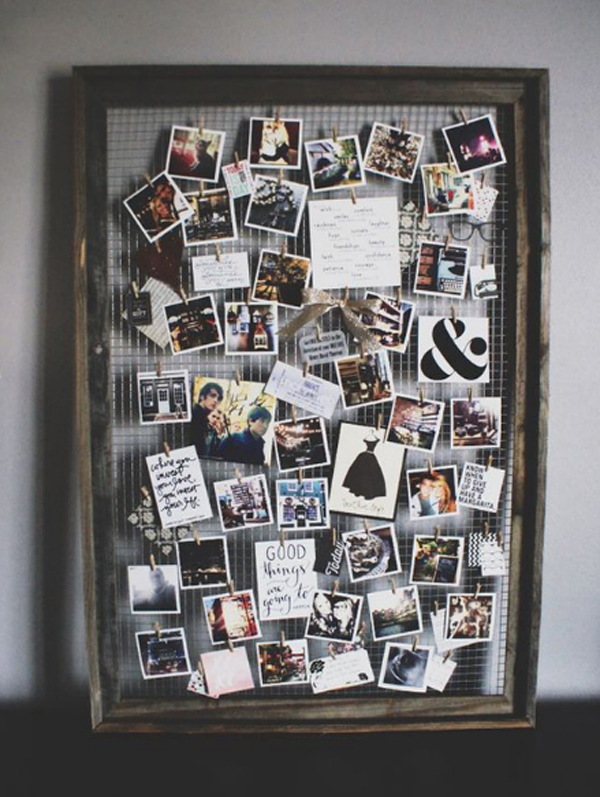 Creative picture collage ideas the for Cool picture frame designs