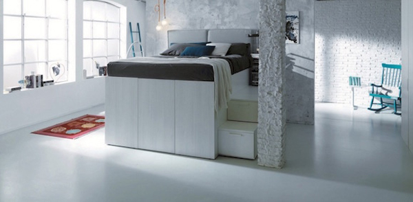 Saving Container Bed With Hidden Storage Space Home