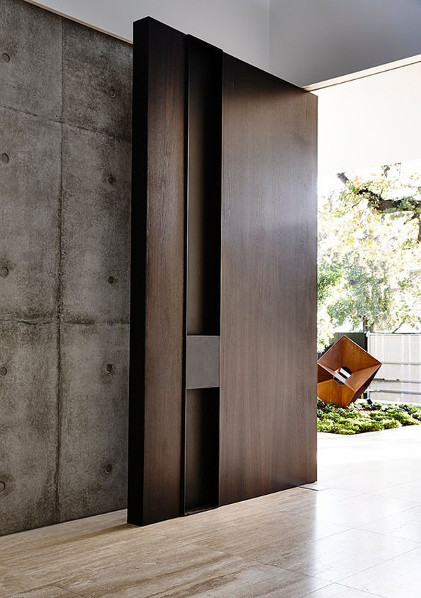 source pinterest - Modern Exterior Doors