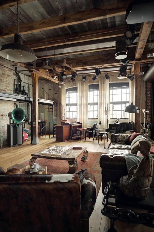 industrial-bachelor-pad-interiors