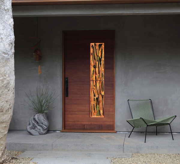 Mid century front door ideas for Design my door