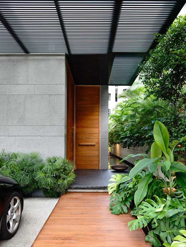 Minimalist small front door designs for Minimalist door design