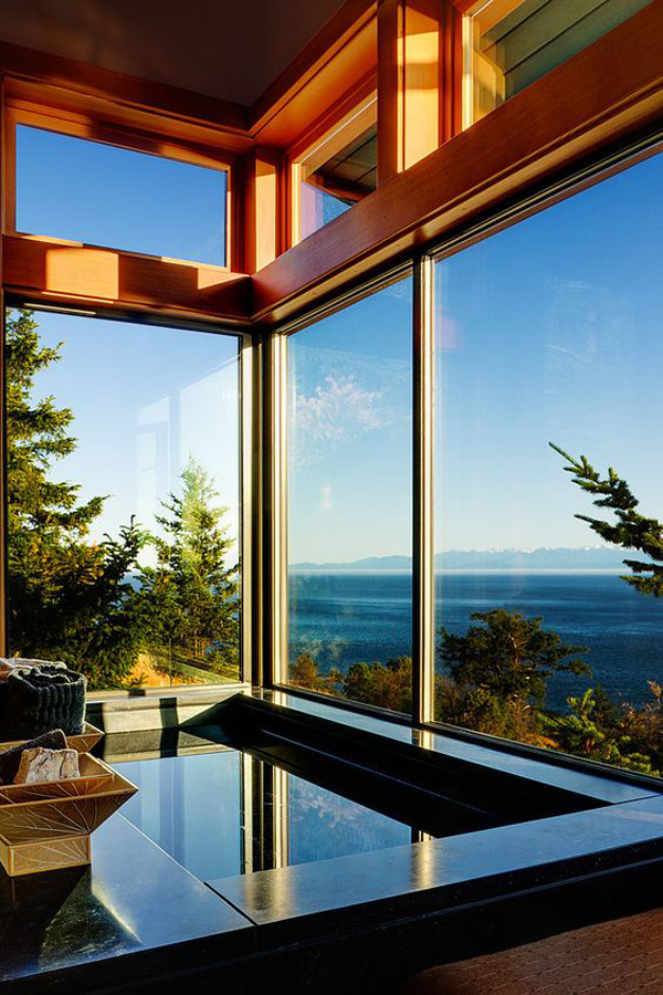 18 Modern Glass House Exterior Designs: 25 Tropical Nature Bathrooms To Get Inspired