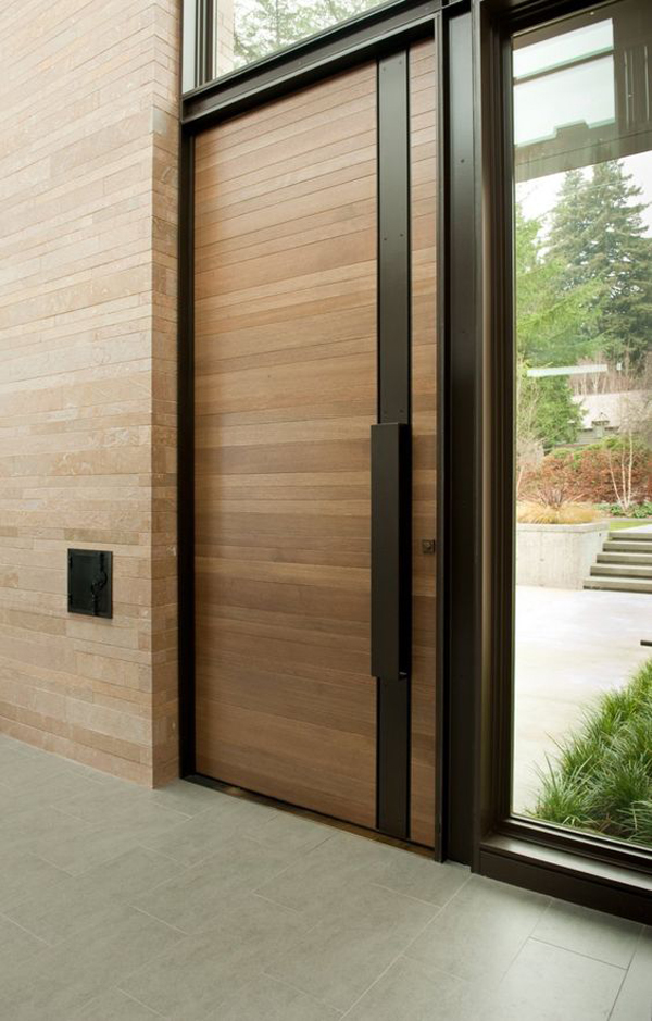Delicieux In This Article Looks 25 Modern Front Door With Wood Accents That Are  Tailored To Your Style And Personality. Scroll Down And Get Inspired!