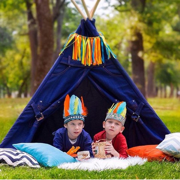 For those of you who are currently planning a kids birthday party outdoor teepee can be a wonderful party theme.  sc 1 st  Homemydesign.com & Cheerful Outdoor Teepee For Kids Playhouse | Home Design And Interior