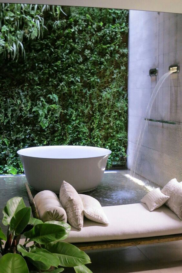 Http Homemydesign Com 2016 25 Tropical Nature Bathrooms To Get Inspired Spa Bathroom With Nature Elements