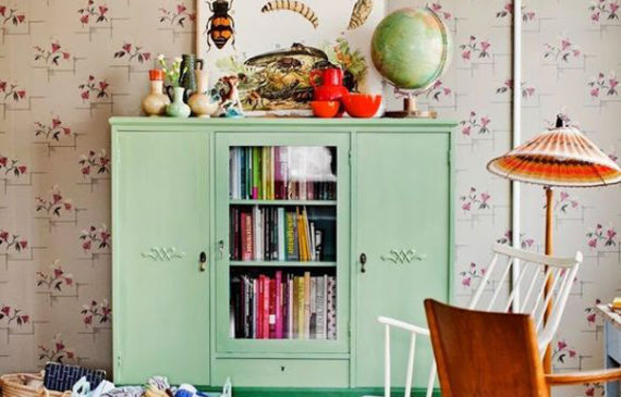 vintage-kids-room-in-mint-green