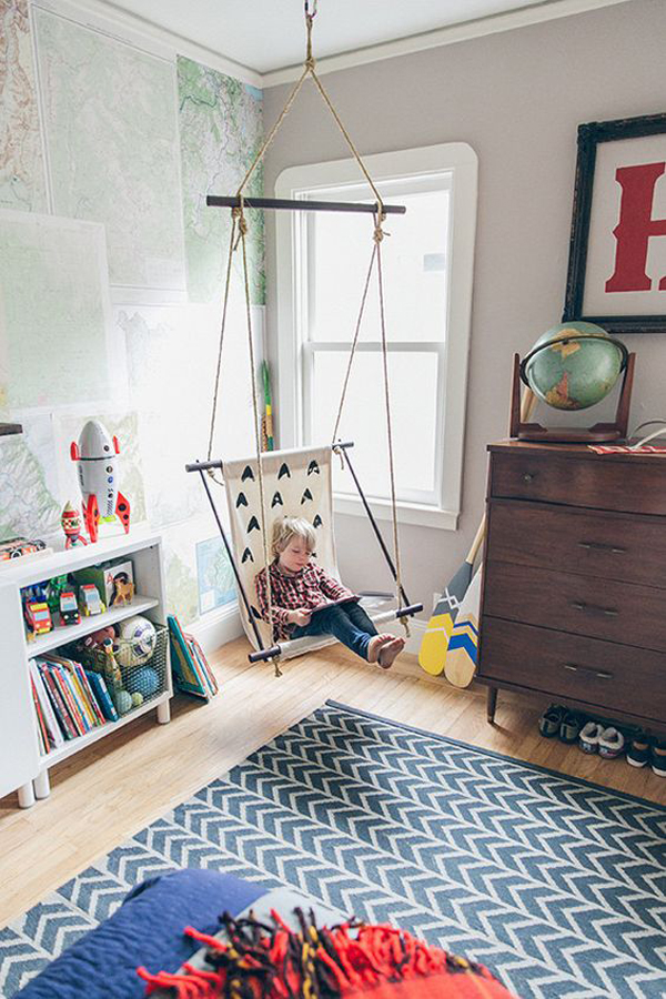 10 Charming Kids Rooms With Vintage Ideas Home Design And Interior