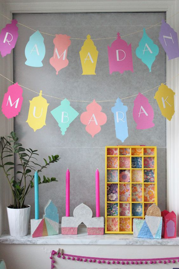 20 delightful and festive decorations to welcome ramadan Islamic decorations for home