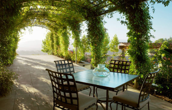 beautiful-and-natural-grape-arbor-decor